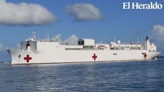 Buque hospital de Estados Unidos trajo alivio a miles de hondureños