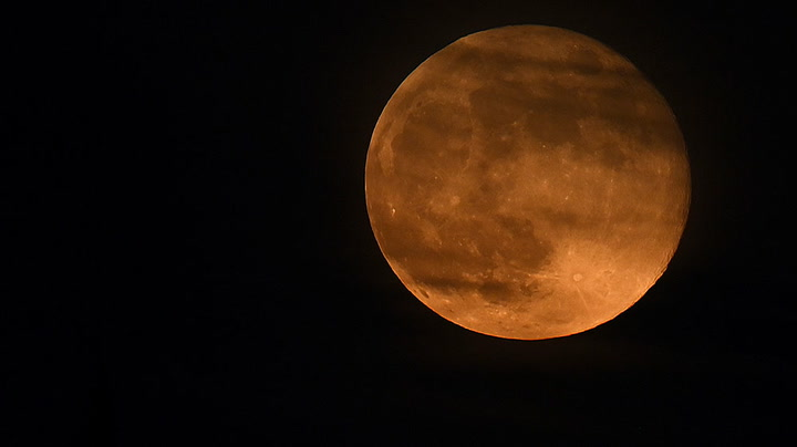 Watch live as 'flower supermoon' rises over Istanbul