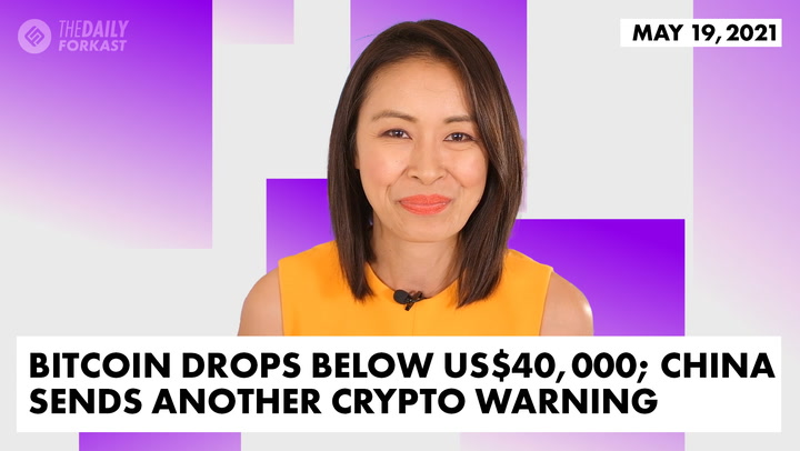 Blood Bath in Asia Crypto Markets; China Sends Another Crypto Warning