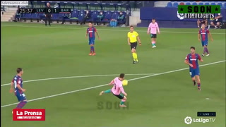 Levante 3 - 3 Barcelona (Liga Española)