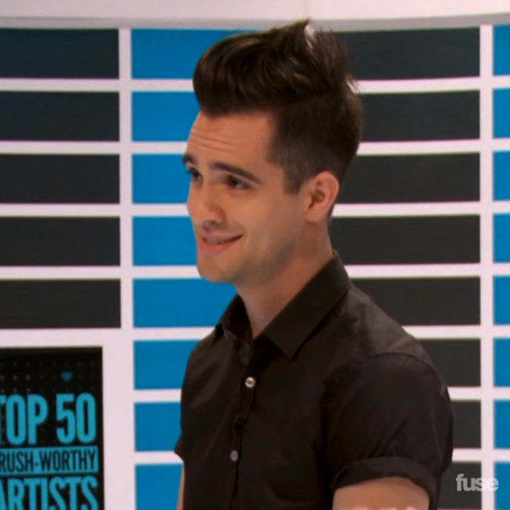 Behind The Scenes with Brendon Urie Hosting Top 50 Crush-Worthy Artists