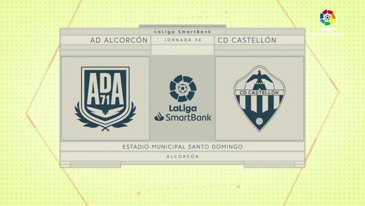 LaLiga SmartBank (J34): Resumen y goles del Alcorcón 2-1 Castellón