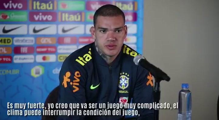 Ederson elogia a la Selección de Colombia