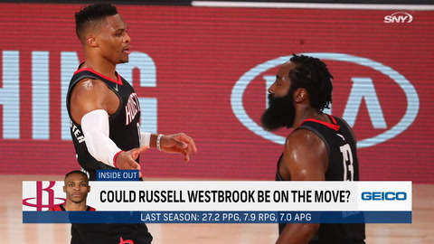 What are the latest James Harden and Russell Westbrook trade rumors?