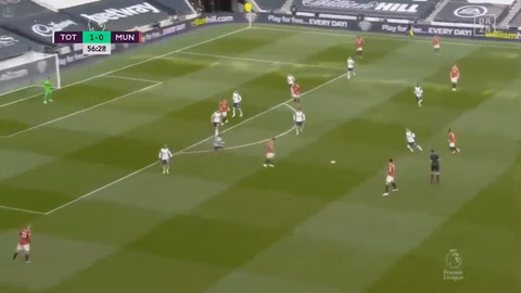 Tottenham 1-3 Manchester United (Premier League de Inglaterra)