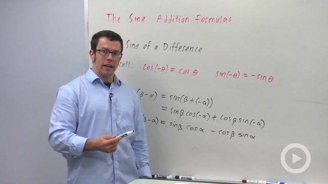 The Sine Addition Formulas - Problem 2