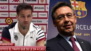 Cecs Fábregas tira duro contra el Barcelon: