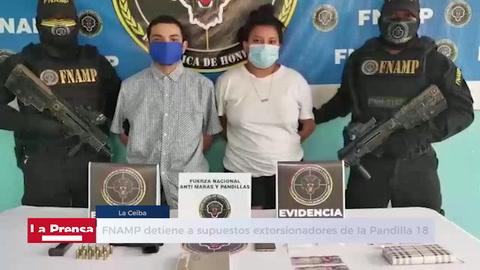FNAMP detiene a supuestos extorsionadores de la Pandilla 18