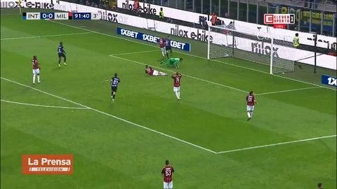 Inter derrotó 1-0 al AC Milan