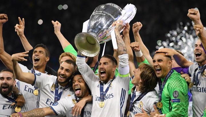 Champions League 2017: El Real Madrid levanta el trofeo de campeones