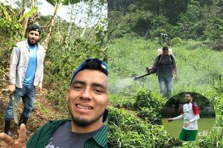 Michael Osorio, el Futbolista de Marathón que trabaja en el cultivo de café por Covid-19