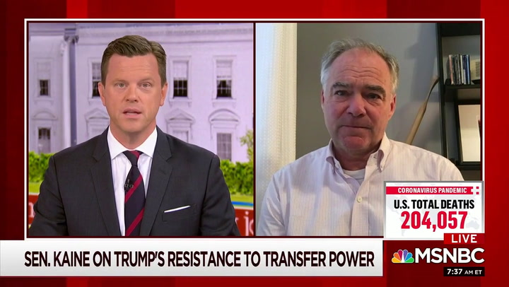 Dem Sen. Kaine: Trump SCOTUS Nominee Has 'Life and Death Consequences'