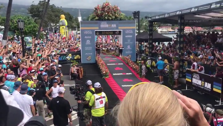 Jan Frodeno gana el Ironman de Hawaii con récord