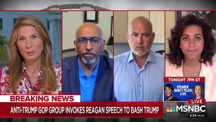 Steve Schmidt: Trump 'Has The Blood of Over a 100,000 Americans on His Hands'
