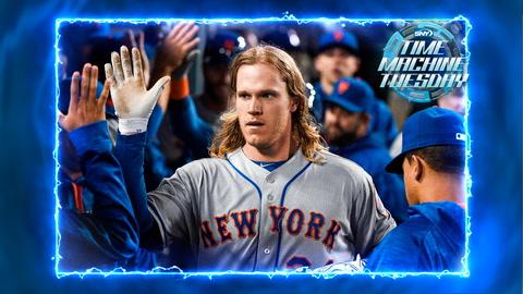 Mets' Noah Syndergaard goes deep twice against LA in 2016