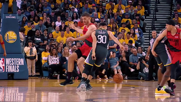 Resumen del partido de la final la Conferencia Oeste de la NBA Golden State Warriors-Portland Trail Blazers (17/05/2019)