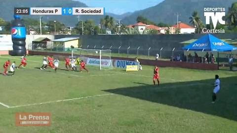 Honduras Progreso 2-2 Real Sociedad (Liga Nacional de Honduras)
