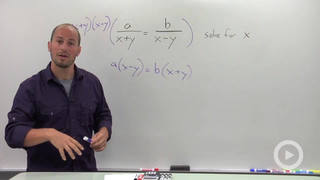 Solving a Rational Equation for a parameter - Problem 2