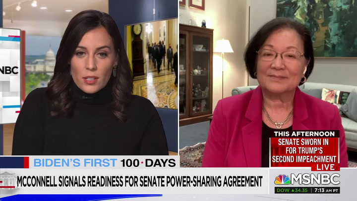 Hirono: We Will 'Revisit the Filibuster Issue' If McConnell Is Obstructionist
