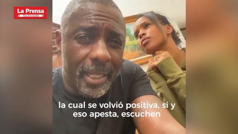 Idris Elba da positivo en prueba de coronavirus