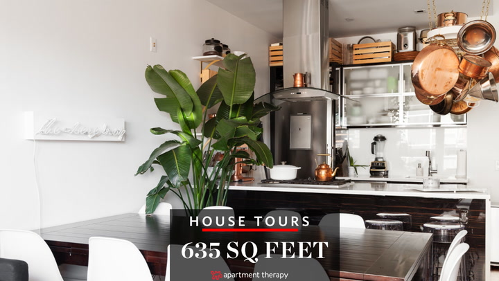 house tour: a 635 square foot brooklyn apartment | apartment therapy