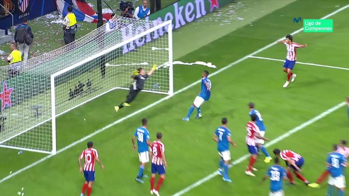 Champions League: Atlético Madrid - Juventus. Gol de Héctor Herrera (2-2)