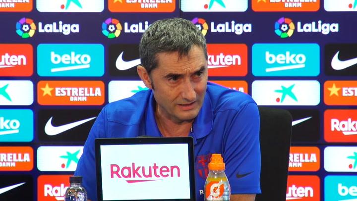 Valverde considera que es momento de pasar página con Neymar