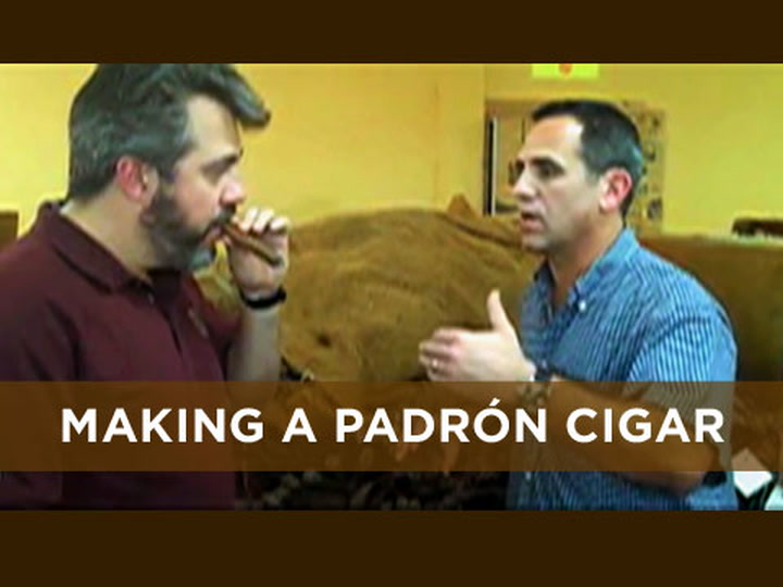 Making a Padrón Cigar