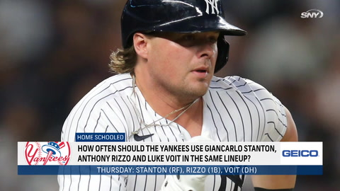 Is the Yankees lineup from Thursday the best they have?