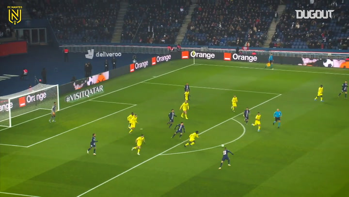 FC Nantes' best skills during the 2019-20 campaign so far