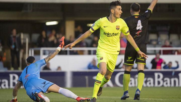 El resumen del Barça B - Teruel