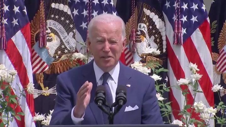 Biden announces recognition of long Covid under ADA