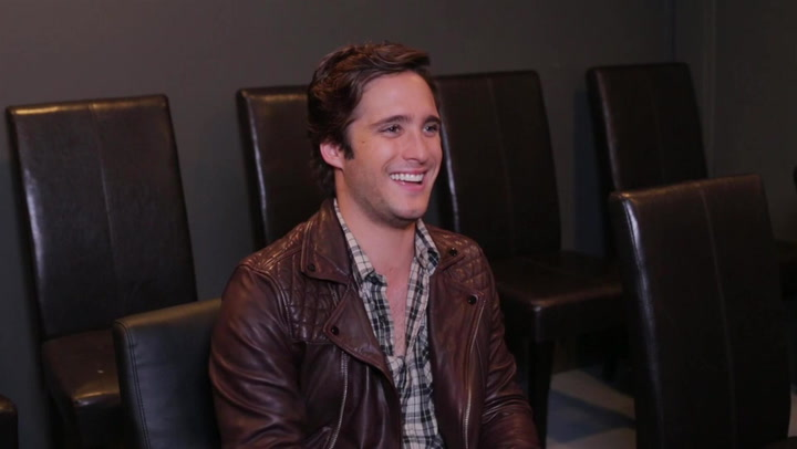 Diego Boneta Recalls the Moment He Wanted to Become a Singer