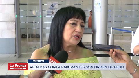 Redadas contra migrantes son orden de EEUU