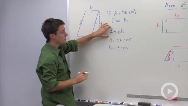 Area of Parallelograms - Problem 2