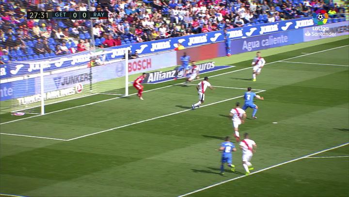 LaLiga  Getafe-Rayo Vallecano. Gol (1-0) de jaime Mata 5ceda2a1f6c