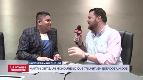 Martín Ortiz, un hondureño que triunfa en Estados Unidos