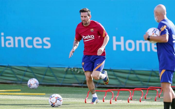 Leo Messi ya se entrena a las órdenes de Ronald Koeman