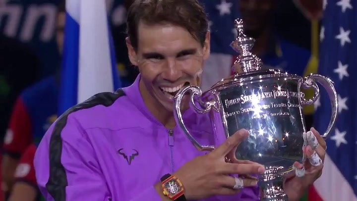 Rafa Nadal muerde su cuarto US Open e iguala en el palmarés a John McEnroe, uno de sus mayores fans