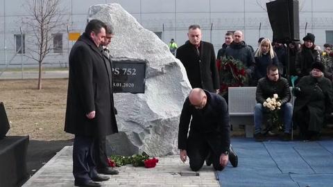 Inauguran plazoleta en honor a víctimas del avión ucraniano derribado en Irán