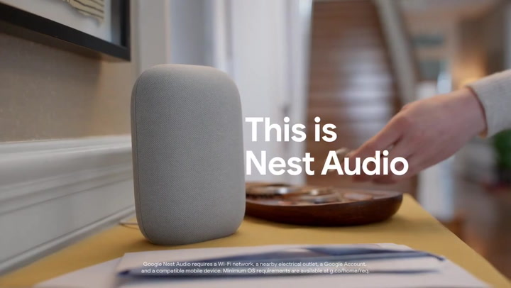 Preview image of Google Nest Audio video