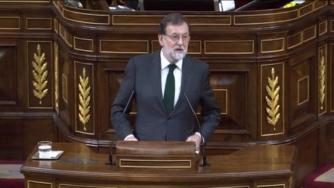 Rajoy fue destituido y el socialista Pedro Sánchez asumió el Gobierno en España
