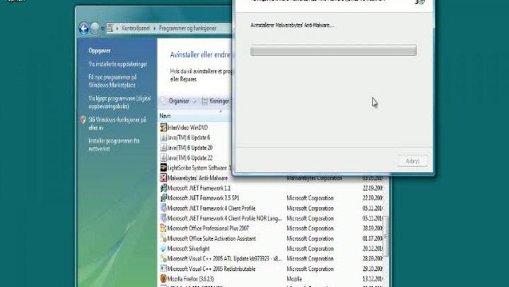PC og nett: Hvordan avinstallere programmer