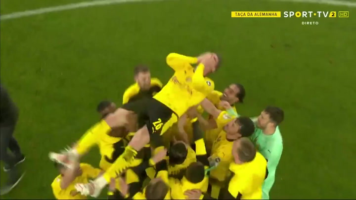 El Dortmund tumba al Leipzig y se lleva la DFB Pokal (1-4)