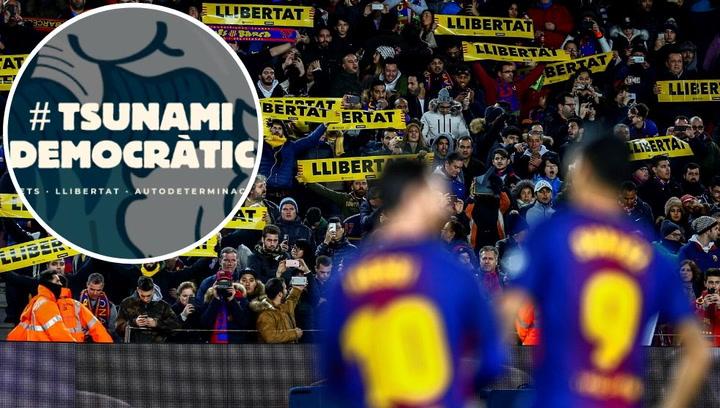 Pedagolgía: ¿A qué sanciones se expone el Barça si cede a las presiones de Tsunami Democràtic?