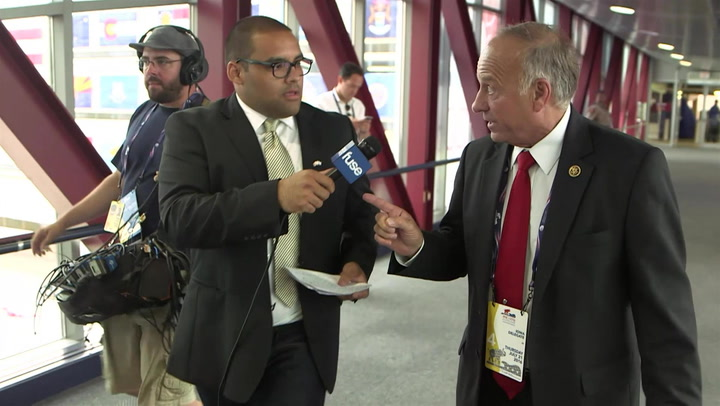 """Rep. Steve King Clarifies """"Subgroups"""" Quote At RNC"""