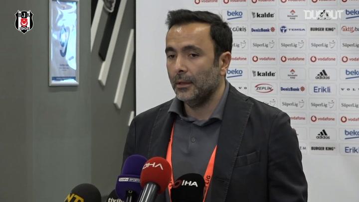 Beşiktaş Asbaşkanı Emre Kocadağ Açıklamalarda Bulundu