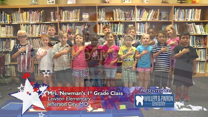 Daily Pledge - Lawson Elementary - Newman