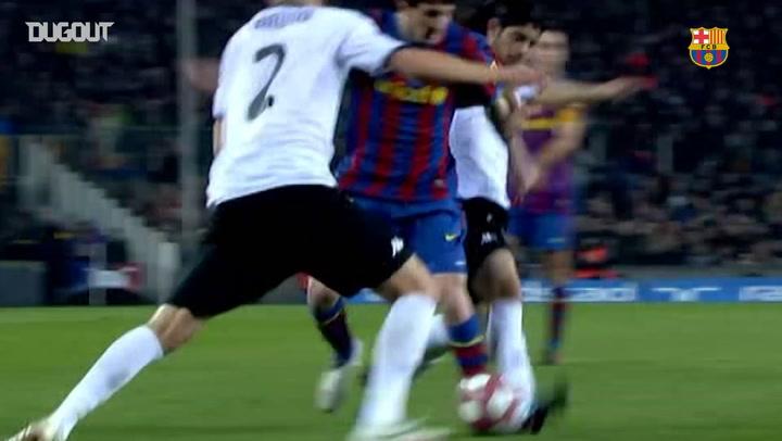 Incredible Goals: Leo Messi Vs Valencia