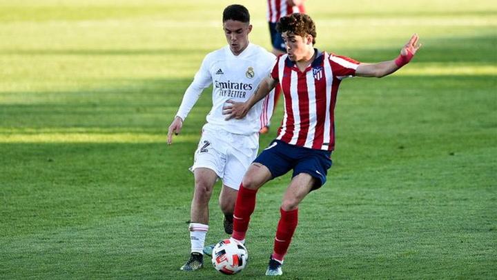 El Real Madrid Castilla venció el derbi de filiales ante el Atlético